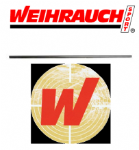 Weihrauch Airgun Barrel Blank -12mm Dia -495mm Long